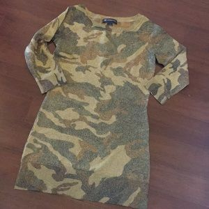 INC international Concepts Camouflage Tunic